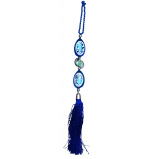Islamic car hanging-Blue