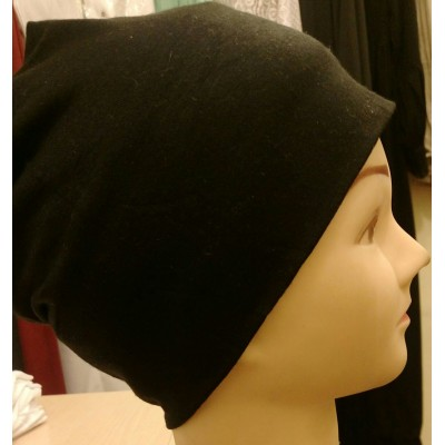 Jersy Hijab Band - Black