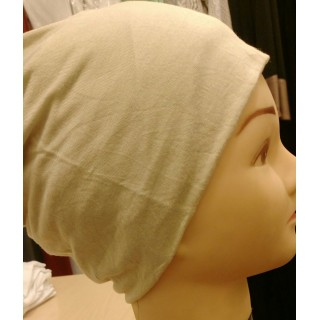 Jersey Hijab Band - Cream Colored