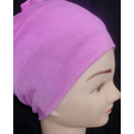 Under Hijab band in pink color