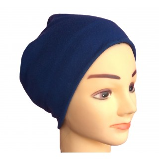 Under hijab - Royal Blue hijab cap