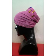 Cotton Hijab Bonnet Cap-Magenta