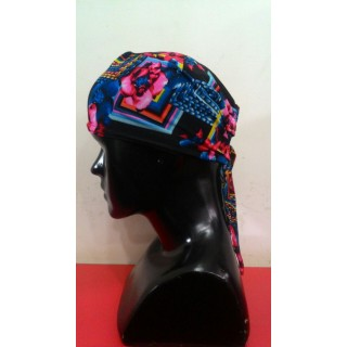 Tie back Bonnet-Mix-Print