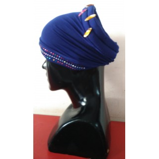 Cotton Hijab Bonnet Cap-Purple