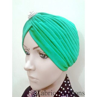 Turban caps-Green