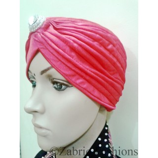 Turban caps-Pink