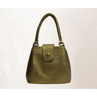Women's handbag - Bright golden