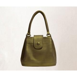 Women's handbag - Bright golden