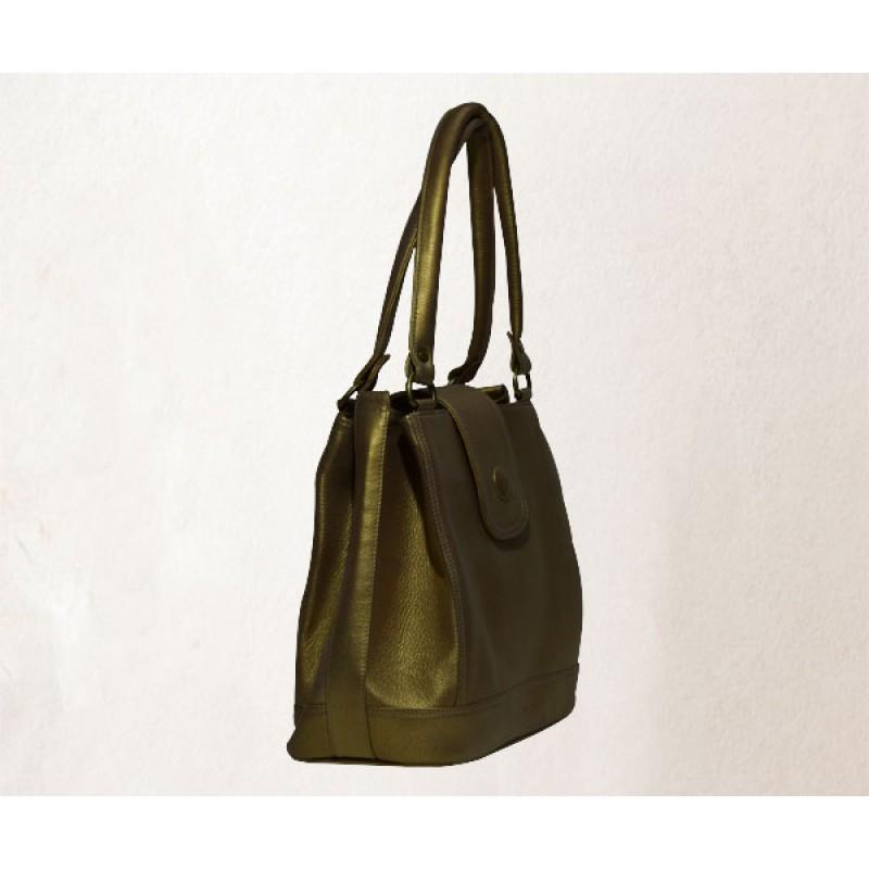 a94e4b1532c Women's handbag - Bright golden