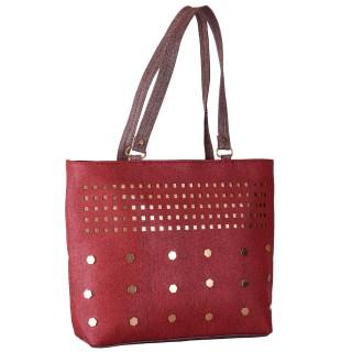 Ladies designer handbag - Maroon