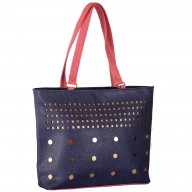Ladies designer handbag - Violet color