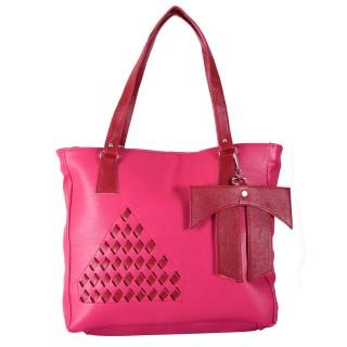 Ladies designer handbag - Pink