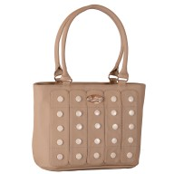 Women's designer handbag - Cream color