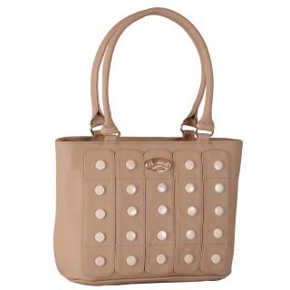 Women's designer handbag - Cream color