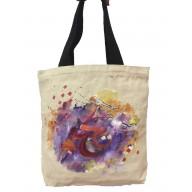 Ladies tote bag- Arabic calligraphy