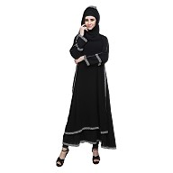 Double layered abaya- Islamic dress for women