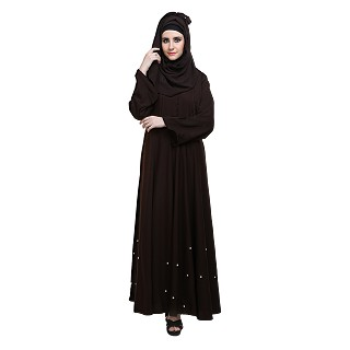 Naqaab- Large flared abaya