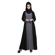 Naqaab- Double layered abaya