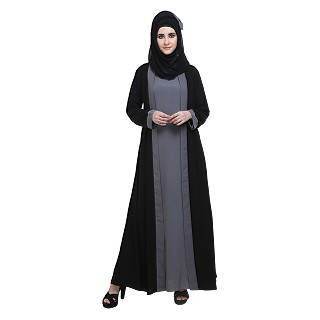 Naqaab- Double layered abaya