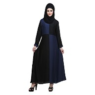 Abaya- Balck and Navy Blue colored