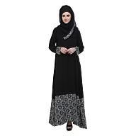 Abaya- Islamic dress, A-Shaped
