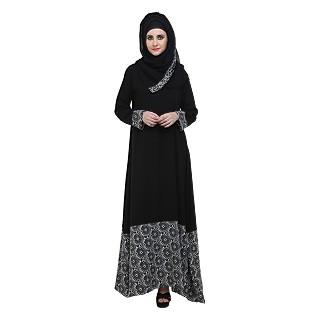 Abaya- Islamic dress, A-Shaped