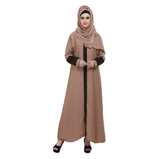 A-shaped formal abaya