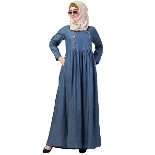 Designer Denim abaya