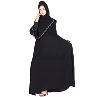 Full flared umbrella abaya- Nidha Fabric