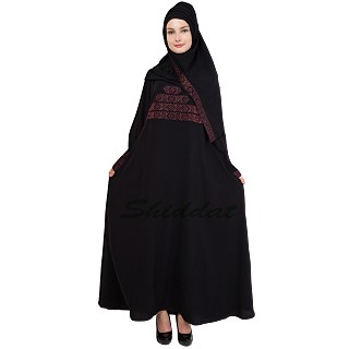 Abaya - Black colored Islamic cloth