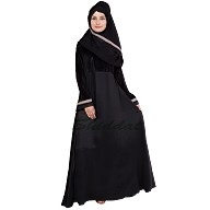 Prayer outfit - Umbrella abaya with hand embroidery work
