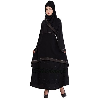 Layered abaya - Prayer outfit in Nidha fabric