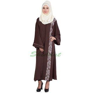 Islamic dress for women- Front open abaya