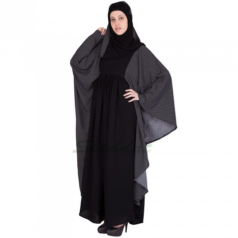 Buy Dual Colored Kaftan Burqa Abaya Online In India