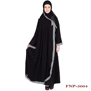 Classic Pleated Kaftan - Georgette Fabric