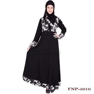 Abaya- Anarkali design