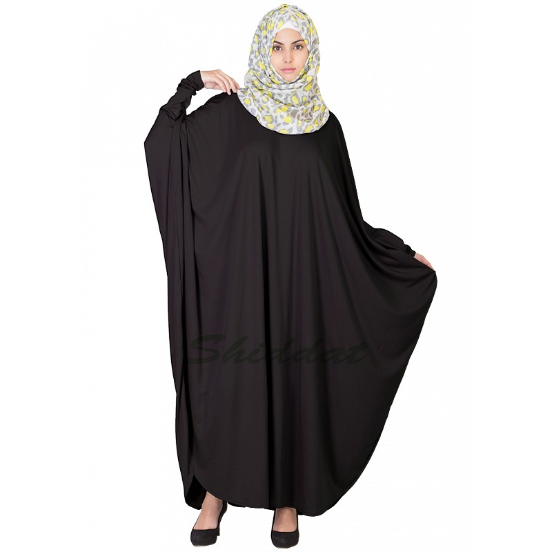 Kaftan- Buy Black colored Kaftan abaya, burqa, naqab ...