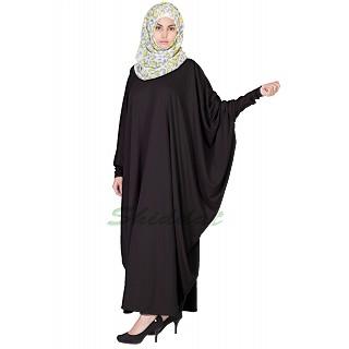 Fashionable Classic Kaftan-Black