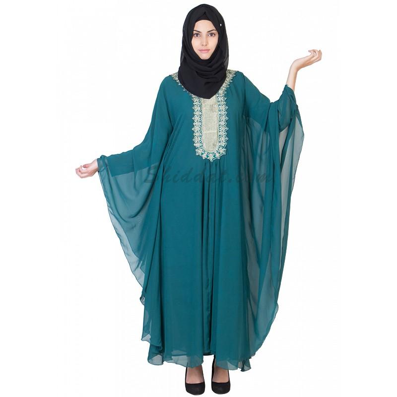 Blue and Green Kaftans