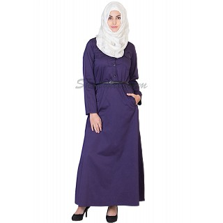 Elegant Purple colored Abaya