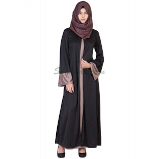 Classic Kimono  Burqa- Double Layer Umbrella Sleeves