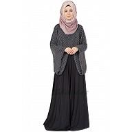 Classic cape abaya