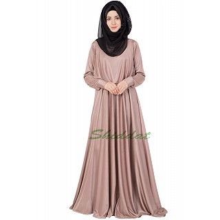 Classic Cape Abaya- Rose Golden