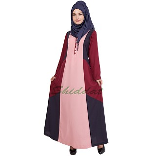 Abaya- Multi Colored