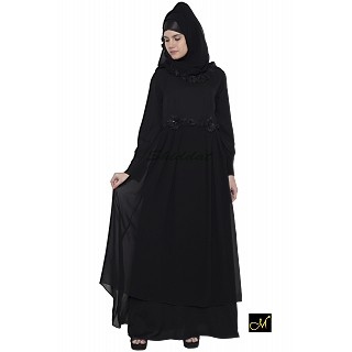 Designer Abaya for women- Black