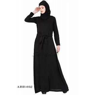 Designer Abaya in Black color