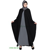 Kaftan style free size Cape with inner abaya