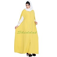 Front open Cape with inner abaya