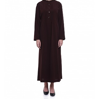 Abaya in brown color