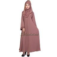 Umbrella Abaya- Oriental Pink